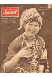 Képes Sport 1956. III. évfolyam + olimpiai különszám (hiányos) - Pásztor Lajos - Régikönyvek