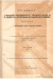 Folyóirat a perenkivüli törvénykezés és a közjegyzői gyakorlat számára 1895. I. évfolyam - Dr. Charmant Oszkár (szerk.) - Régikönyvek