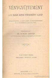 Vénygyűjtemény - Dr. Bókay Árpád - Régikönyvek