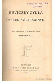 Reviczky Gyula összes költeményei - Reviczky Gyula - Régikönyvek