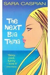 The Next Big Thing - CASPIAN, SARA - Régikönyvek