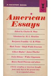 American Essays - Charles B. Shaw - Régikönyvek