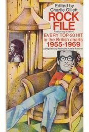 Rock File - Charlie Gillett - Régikönyvek