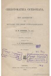 Chrestomathia Ciceroniana - Lüders, C. F. - Régikönyvek