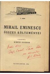 Mihail Eminescu összes költeményei - Eminescu, Mihai - Régikönyvek