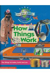 How Things Work - Claire Llewellyn - Régikönyvek
