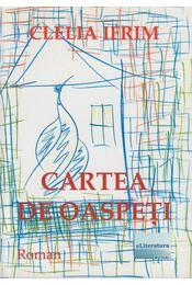 Cartea de Oaspeti (Dedikált) - Clelia Ifrim - Régikönyvek