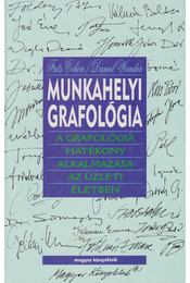 Munkahelyi grafológia - Cohen, Frits, Wander, Daniel - Régikönyvek