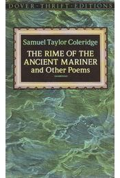 The Rime of the Ancient Mariner and Other Poems - Coleridge, Samuel Taylor - Régikönyvek