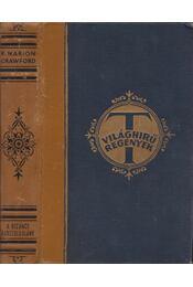 A bizánci rabszolgalány - Crawford, F. Marion - Régikönyvek