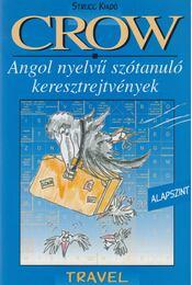 CROW Travel - Angol nyelvű szótanuló keresztrejtvények szószedettel - Régikönyvek
