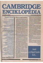 Cambridge Enciklopédia A-Z + függelék - Crystal, David - Régikönyvek