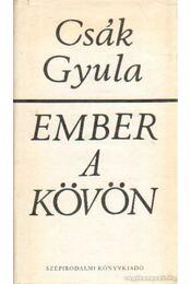 Ember a kövön - Csák Gyula - Régikönyvek
