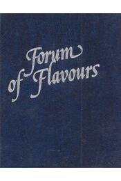 Forum of Flavours (mini) - Csányi József, Facsar Sándor, F. Nagy Angéla, Párkány Mihály, Unger Károly - Régikönyvek