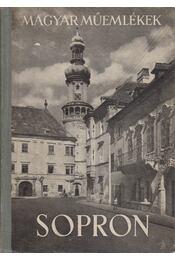 Sopron - Csatkai Endre - Régikönyvek