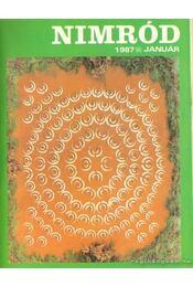Nimród 1987. 107. évfolyam (teljes) - Csekó Sándor - Régikönyvek