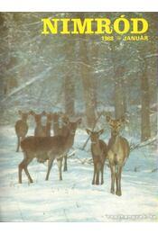 Nimród 1988. 108. évfolyam (teljes) - Csekó Sándor - Régikönyvek