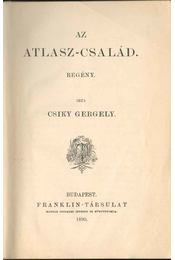 Az Atlasz-család - Csiky Gergely - Régikönyvek