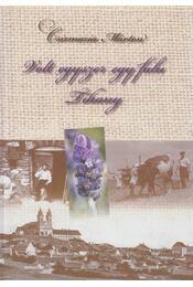 Volt egyszer egy falu - Tihany - Csizmazia Márton - Régikönyvek