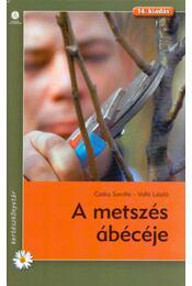A metszés ábécéje - Czáka Sarolta, Valló László - Régikönyvek