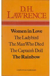 Woman in Love / The Ladybird / The Man Who Died / The Captain's Doll / The Rainbow - D. H. Lawrence - Régikönyvek