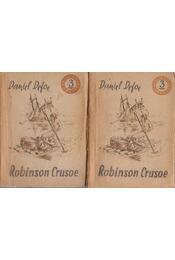 Robinson Crusoe I-II. kötet - Daniel Defoe - Régikönyvek