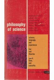Philosophy of Science - Danto, Arthur, Morgenbesser, Sidney - Régikönyvek
