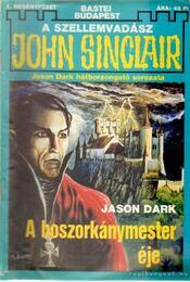 A boszorkánymester éje - Dark, Jason - Régikönyvek