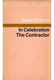 In Celebration / The Contractor - David Storey - Régikönyvek