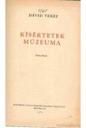 Kísértetek múzeuma - Dávid Teréz - Régikönyvek