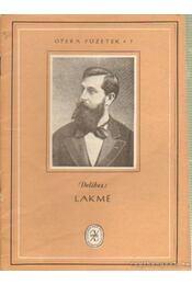Lakmé - Delibes, Leo - Régikönyvek