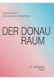 Der Donauraum - Régikönyvek