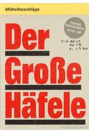 Der Große Hafele - Régikönyvek