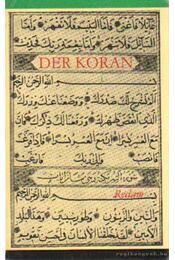 Der Koran - Régikönyvek