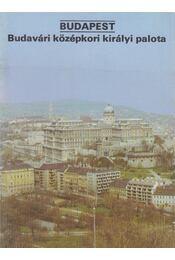 Budapest - Budavári középkori királyi palota - Dercsényi Balázs - Régikönyvek
