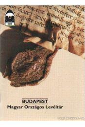 Budapest - Magyar Országos Levéltár - Dercsényi Balázs - Régikönyvek