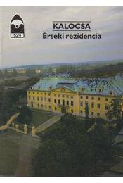 Kalocsa - Érseki rezidencia - Dercsényi Balázs - Régikönyvek