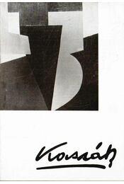 Kassák Lajos emlékkiállítás - Kassák Lajos irodalmi munkásságát bemutató kiállítás - Kerekasztal beszélgetés Kassák Lajosról (meghívó) - Dévényi Iván - Régikönyvek