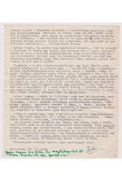 Dévényi Iván levél - Dévényi Iván - Régikönyvek