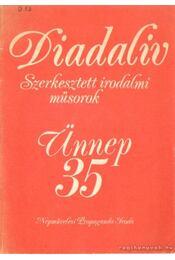 Diadalív - Régikönyvek