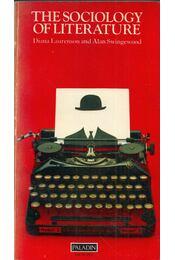 The Sociology of Literature - Diana Laurenson, Alan Swingewood - Régikönyvek