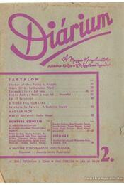 Diárium 1943. február - Régikönyvek