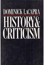 History and Criticism - Dominick LaCapra - Régikönyvek
