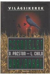 Csendélet varjakkal - Douglas Preston,  Lincoln Child - Régikönyvek