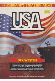 Hildebrand's Straßen-Atlas USA - Der Westen - Dr. Bernd Peyer, Ellen Knutson - Régikönyvek