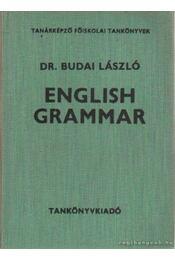 English Grammar - Dr. Budai László - Régikönyvek