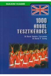 1000 angol tesztkérdés - Dr. Dávid Katalin Zsuzsanna, Dr. David P. Curley - Régikönyvek