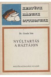 Nyúltartás a háztájon - Dr. Gonda Irén - Régikönyvek