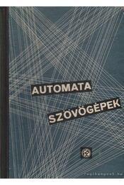 Automata szövőgépek - Dr. Jeredán Miklós - Régikönyvek
