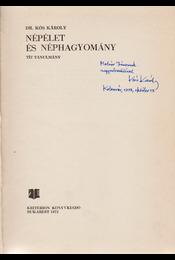 Népélet és néphagyomány. Tíz tanulmány. (Dedikált.) - Dr. Kós Károly - Régikönyvek